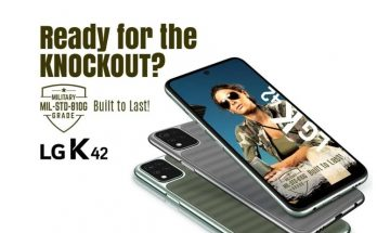 LG K42 launched in India with the military-grade build quality, price Rs 10,990