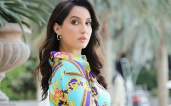Nora Fatehi looks no less than an empress wearing a pearl blouse, Fans became flat after photos surfaced