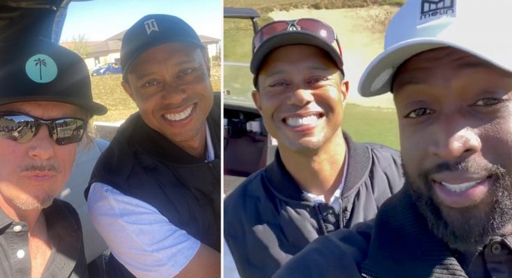 Before car accident, Tiger Woods was in LA for photo shoot