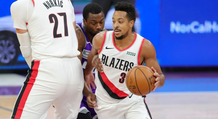 Blazers HC Terry Stotts offers update on status of CJ McCollum's left foot