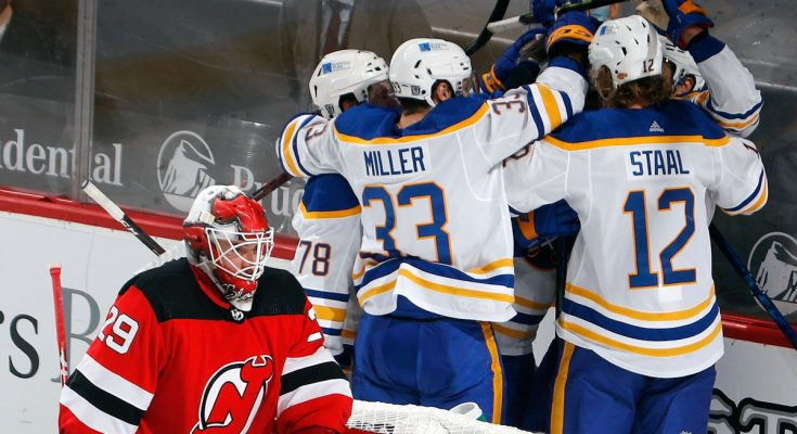 Devils' skid hits three after blowout loss to Sabres