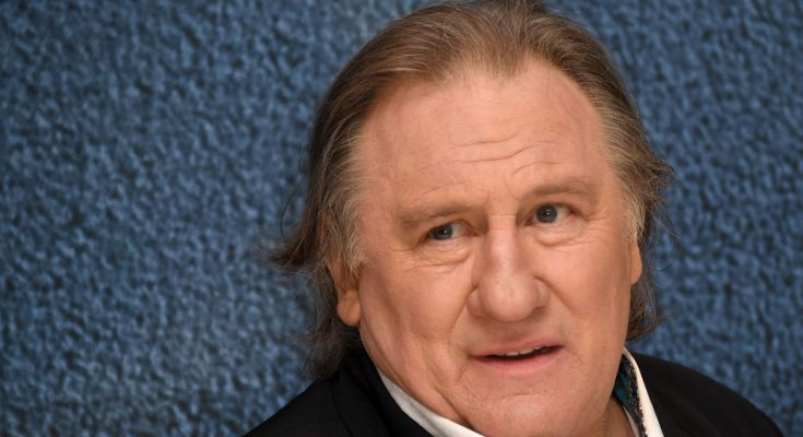 French actor Gerard Depardieu charged with rape