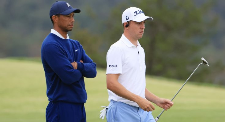 Justin Thomas reacts to close friend Tiger Woods' car crash: 'I'm sick to my stomach'