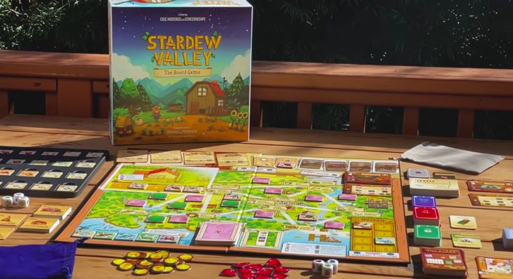 Stardew Valley is now a cooperative board game