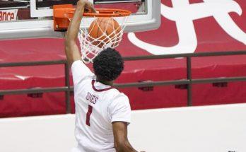 No. 8 Alabama basketball completes season sweep of Auburn