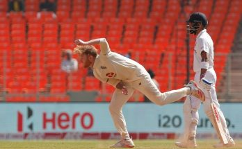 Stokes leads England's fight, India 80-4 at lunch