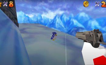 The latest Super Mario 64 speedrun trend gives Mario a gun