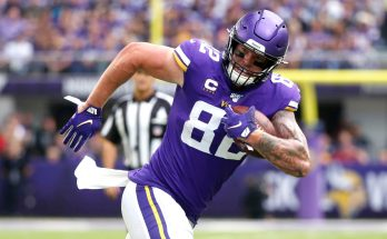Vikings release tight end Kyle Rudolph after 10 seasons