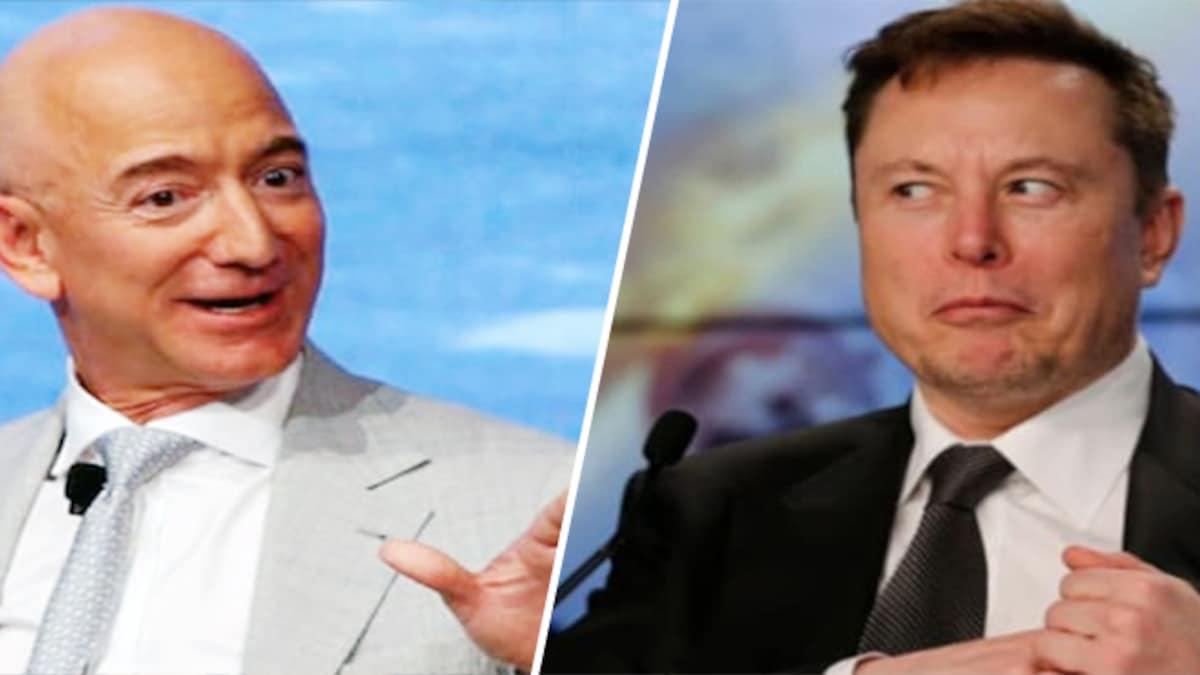 Jeff Bezos loses bet against Elon Musk